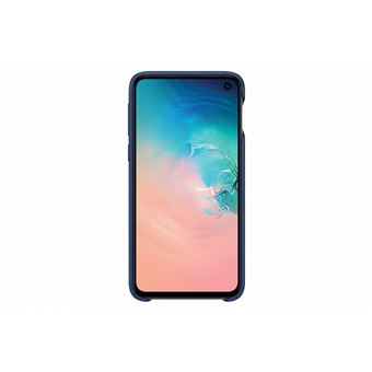 Samsung Galaxy S10E Leather Cover Navy