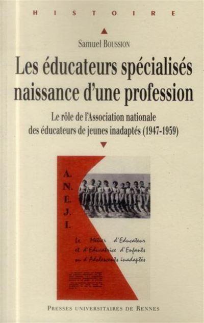 Les éducateurs spécialisés