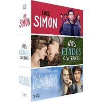 Coffret Love, Simon, La face cachée de Margo et Nos étoiles contraires DVD