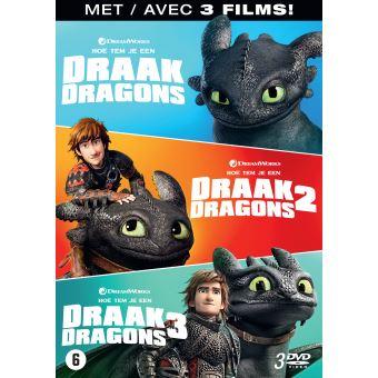Dragons 1-3 Box DVD