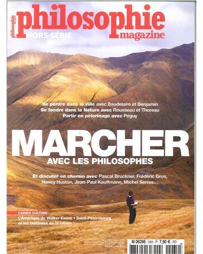 """Résultat de recherche d'images pour """"marcher philosophie magazine"""""""