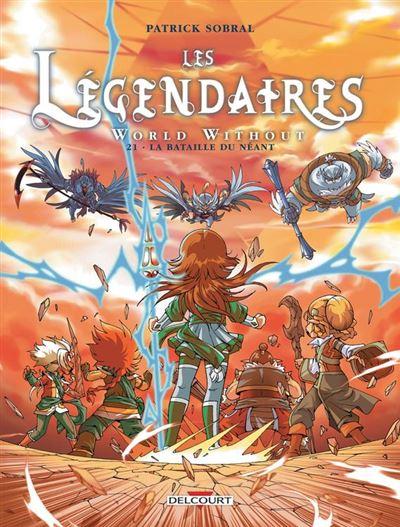Les Légendaires T21 - World Without - La Bataille du néant - 9782413016267 - 7,99 €