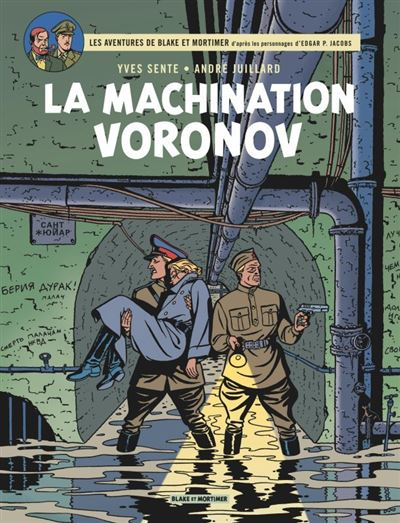 Blake & Mortimer - La Machination Voronov