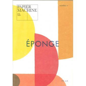 Papier machine,07:eponge
