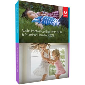 Adobe Photoshop Elements + Premiere Elements 2018 Minibox  PC/MAC UK