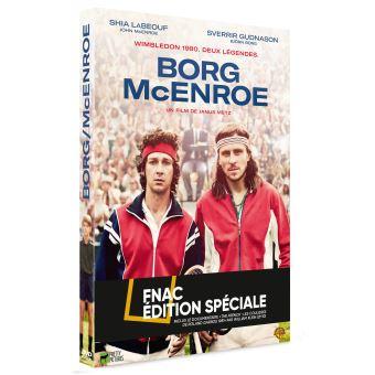 Borg McEnroe Edition Spéciale Fnac DVD