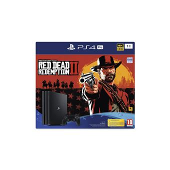 PS4 RED DEAD REDEMPTION 2 PRO 1TB FR