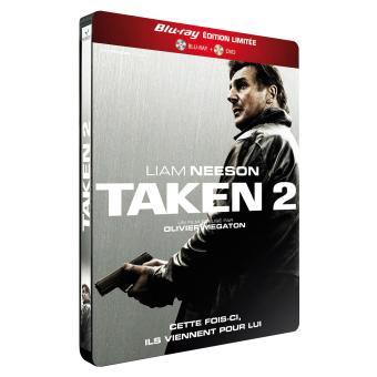 TakenTaken 2 - Combo Blu-Ray + DVD - Boîtier métal Limité