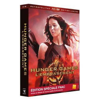 Hunger Games - L'embrasement  Edition Limitée Spéciale Fnac Combo Blu-ray + DVD