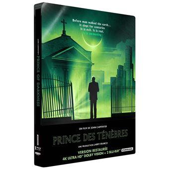 Le prince des ténèbres Steelbook Blu-ray 4K Ultra HD