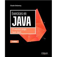 Exercices en java 4e edition