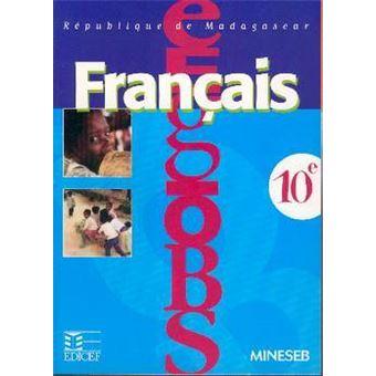 Francais 10e Madagascar Ele