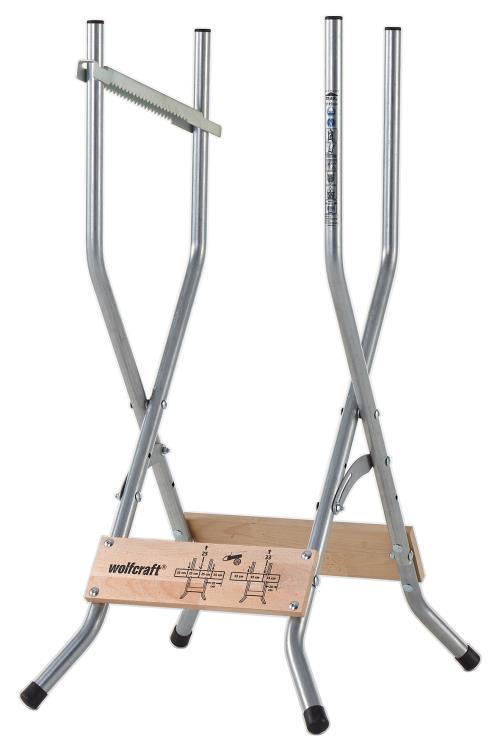 wolfcraft Chevalet à bûches SB 60 100 kg 5119000