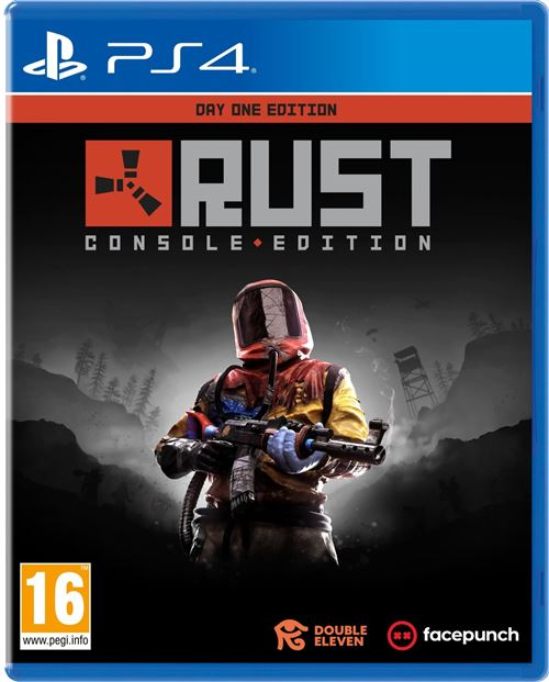Rust Console Edition Day One PS4