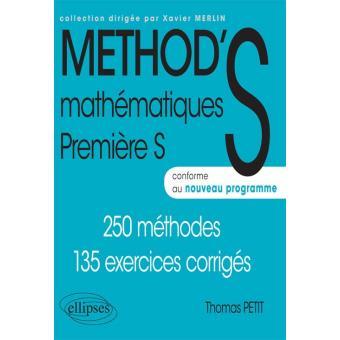Mathematiques Premiere S Conforme Au Nouveau Programme 2011 Cahier D Exercices Broche Thomas Petit Achat Livre Fnac
