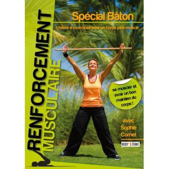 Renforcement musclaire Spécial bâton DVD