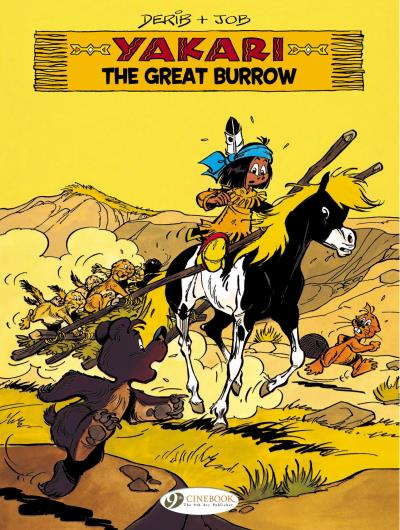 Yakari - tome 13 The Great Burrow