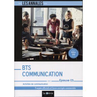 Bts communication epreuve e5