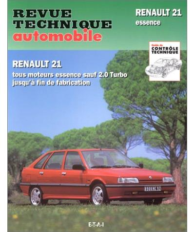 Revue technique automobile 710.3 Renault 21 & Nevada essence