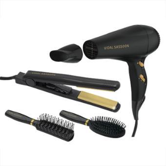 Kit Complet Vidal Styling Sèche cheveux + Lisseur + Brosses - Achat ... e73a3f72d912