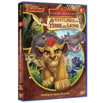 La Garde du Roi LionLa Garde du Roi Lion Volume 3 Aventures en Terre des Lions DVD