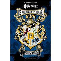 Harry Potter - Journal créatif : Les maisons de Poudlard
