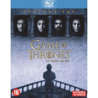 GAME OF THRONES / TRONE DE FER S5+S6-BIL-BLURAY