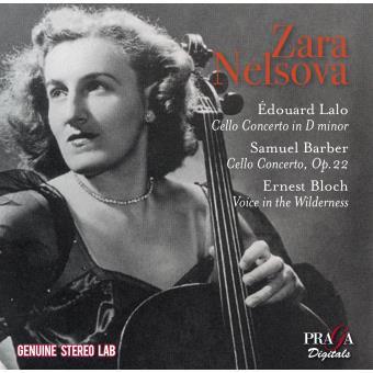 TRIBUTE TO ZARA NELSOVA