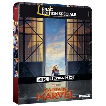 Captain MarvelCaptain Marvel Steelbook Edition Spéciale Fnac Blu-ray 4K Ultra HD