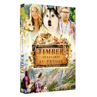 timber et la carte au trésor Timber et la carte au trésor DVD   Ari Novak   DVD Zone 2   Achat