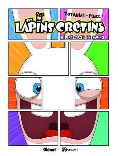 Découvrez la série bande dessinée délirante des Lapins Crétins