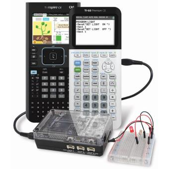 Platforme de programmation Texas Instruments TI-Innovator Hub avec TI LaunchPad Board