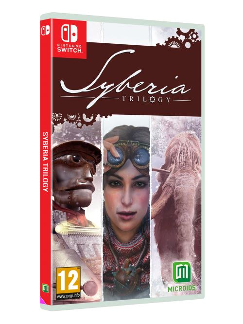 Syberia Trilogy Nintendo Switch
