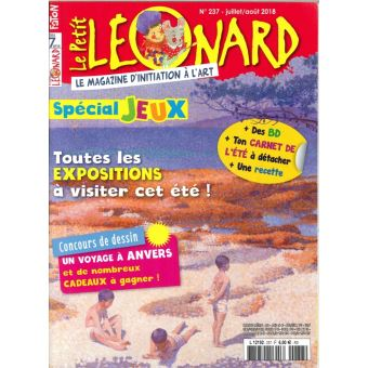 Petit leonard,237:special expo et jeux