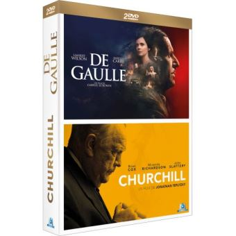COFFRET DE GAULLE + CHURCHILL-FR