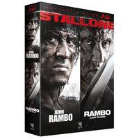 Coffret Rambo : Last Blood et John Rambo DVD