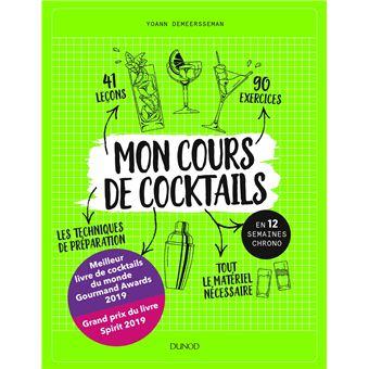 Mon cours de cocktails - en 12 semaines chrono