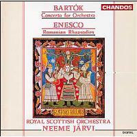 Concerto pour orchestre - Rhapsodies roumaines N°1 et N°2