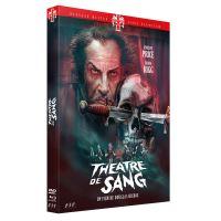 Théâtre de sang 1973 Edition Limitée Combo DVD Blu-ray