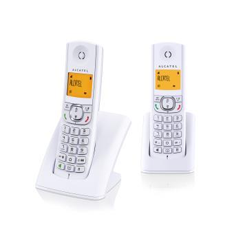 Alcatel F 570 Duo Blanc