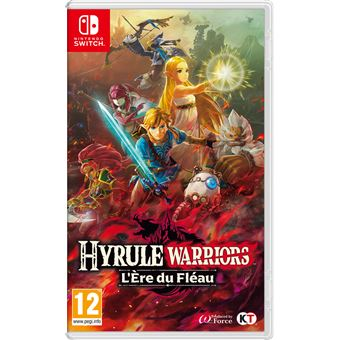 Hyrule Warriors L Ere Du Fleau Nintendo Switch Jeux Video Achat Prix Fnac