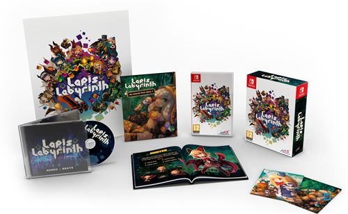 Lapis X Labyrinth Edition Limitée XL Nintendo Switch