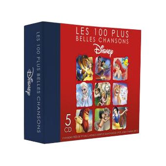 100 PLUS BELLES CHANSONS/5CD