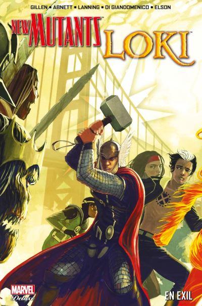 New Mutants/Loki - En exil - 9782809483017 - 17,99 €