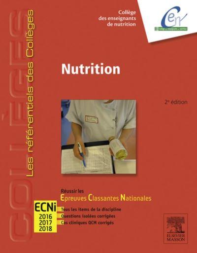 Nutrition - Réussir les ECNi - 9782294738234 - 23,99 €