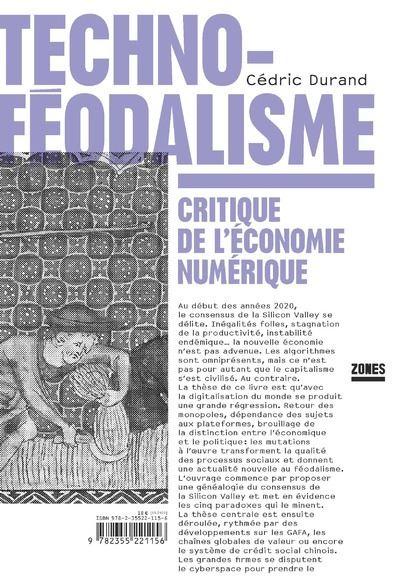 Techno-féodalisme - Critique de l'économie numérique