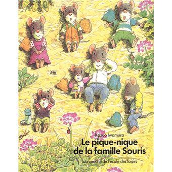 La famille SourisPique nique de la famille souris (Le)