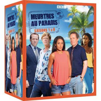 Meurtres au paradisCoffret Meurtres au paradis Saisons 1 à 8 DVD
