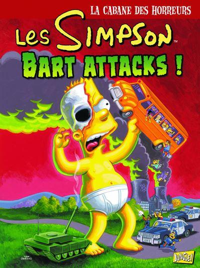 Les Simpson - La cabane des horreurs - tome 7 Bart Attacks