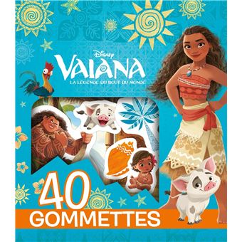 Vaiana40 gommettes